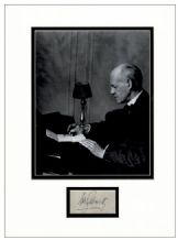John Galsworthy Autograph Display - The Forsyte Saga
